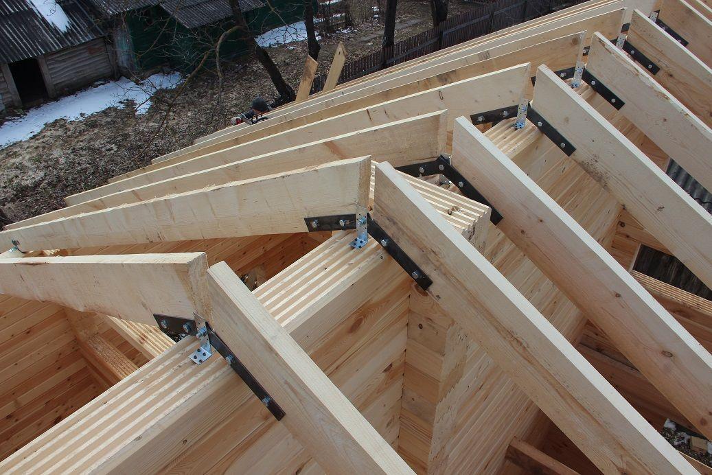 Как собрать дом из профилированного бруса своими руками 14